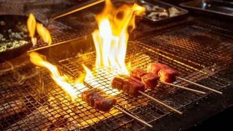 gozu sf steak skewers