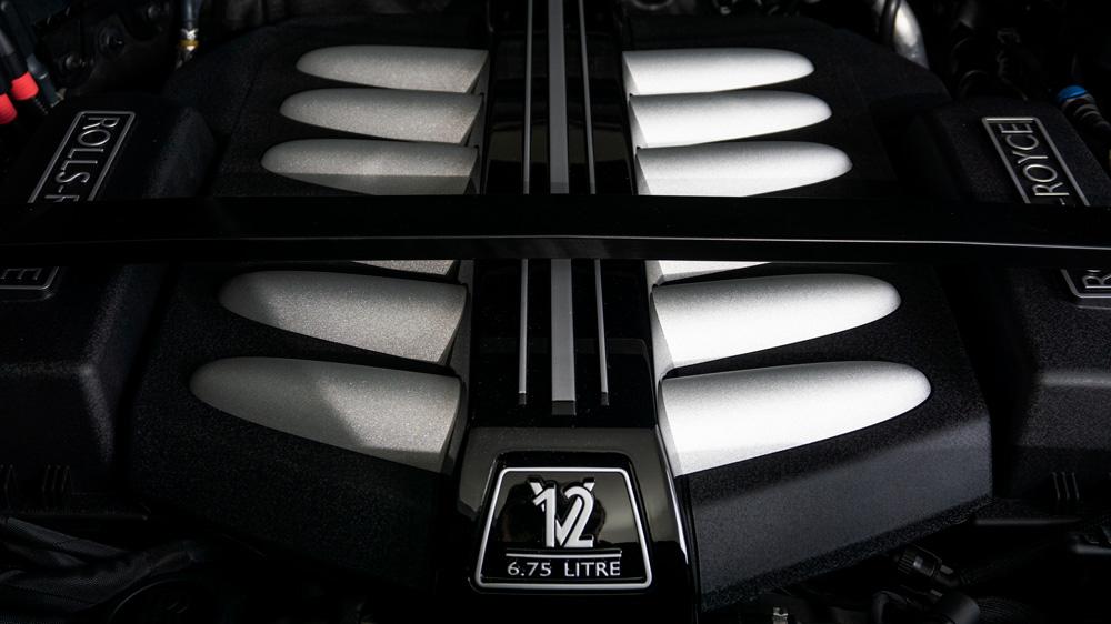 The Rolls-Royce Black Badge Cullinan.