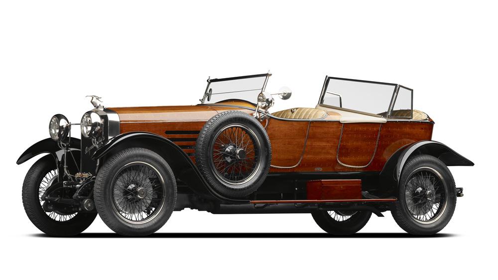 A 1922 Hispano Suiza Type H6B 'Skiff Torpedo.'