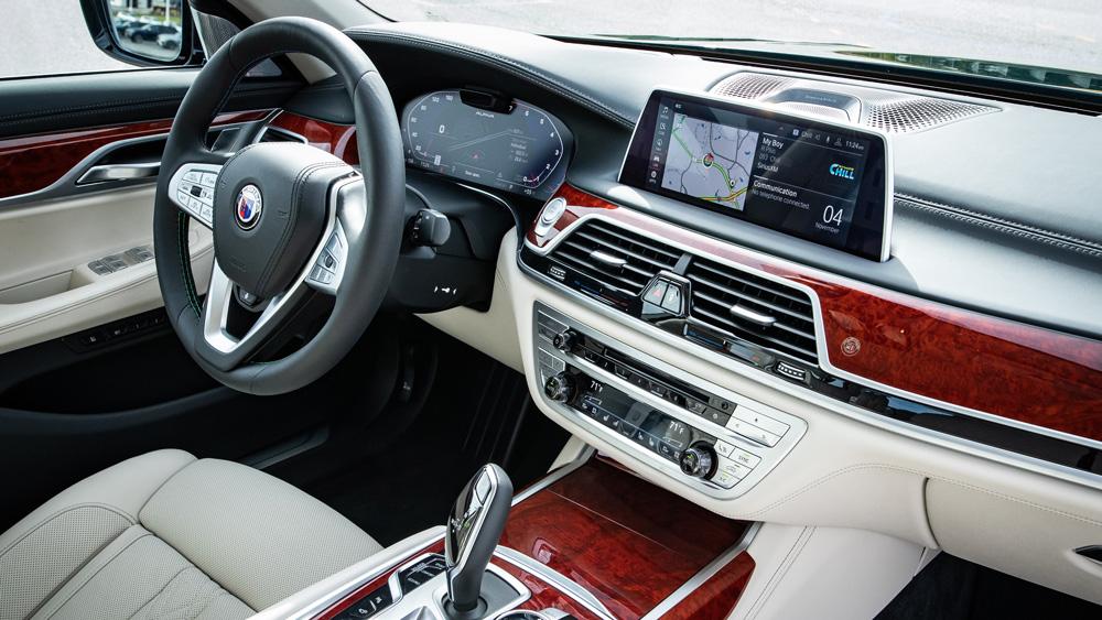 The BMW Alpina B7.