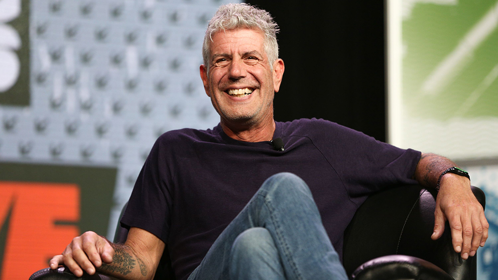 Anthony Bourdain speaks during South By Southwest at the Austin Convention Center, in Austin, Texas2016 SXSW - Anthony Bourdain Keynote, Austin, USA