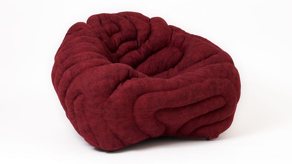 Ayala Serfaty red chair