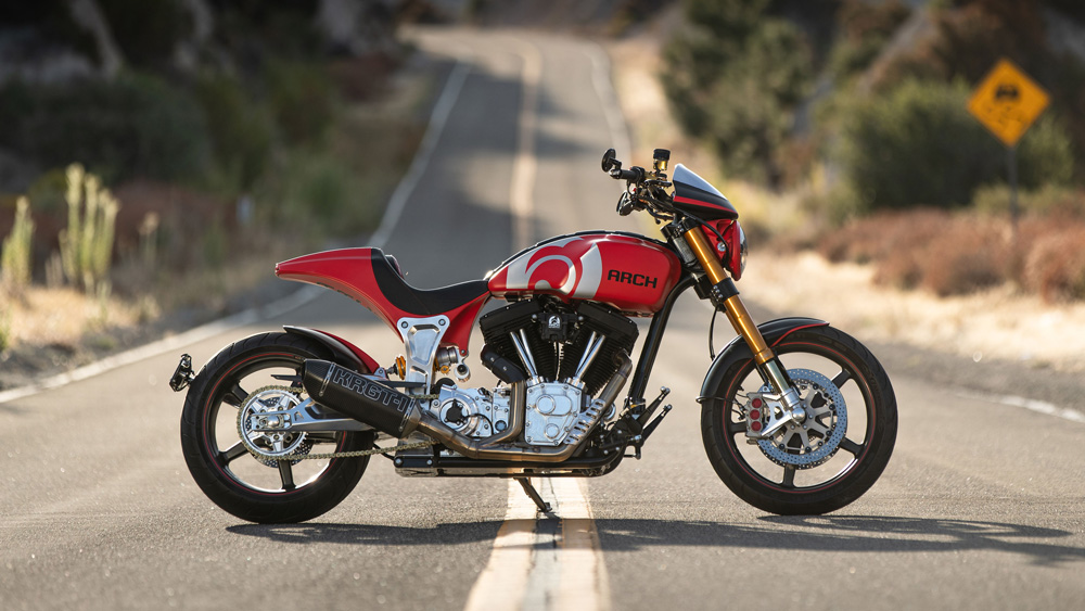 The Arch KRGT-1 Motorcycle.