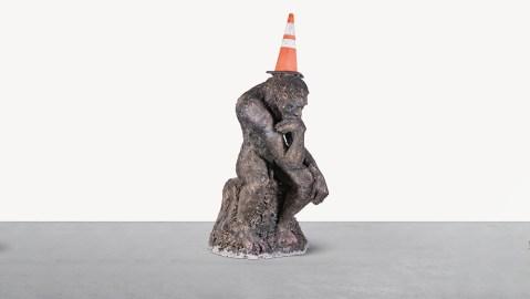 Banksky 'The Drinker' Sculpture