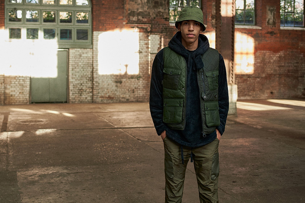 Barbour and End clothing team up for a sharp update on the classic Baffle vest.