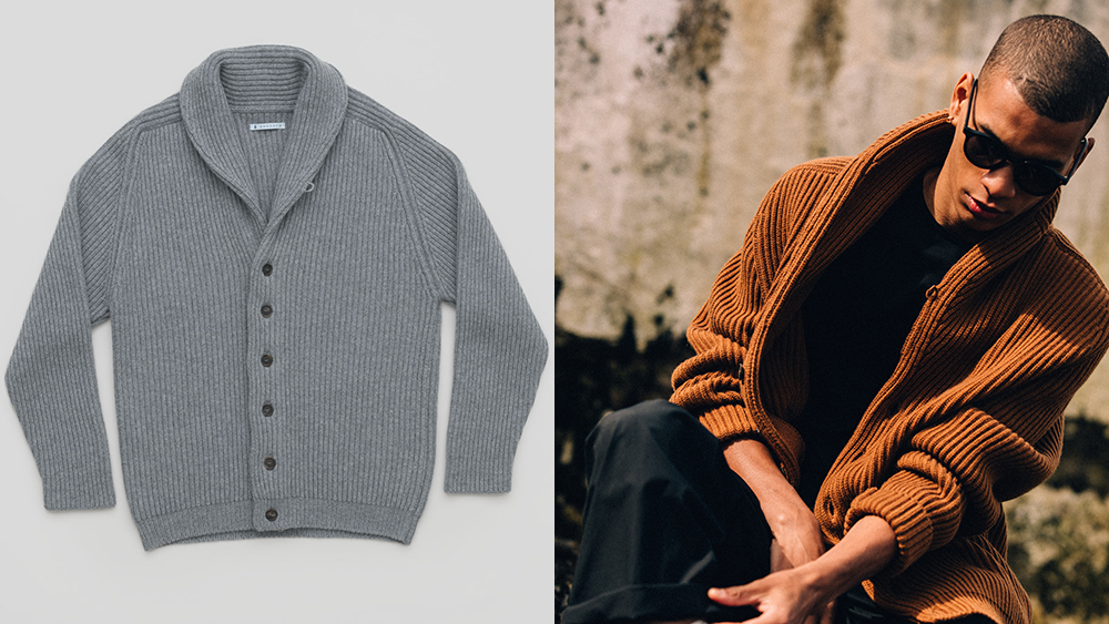 Begg & Co. has introduced its first line of sweaters and beanies.