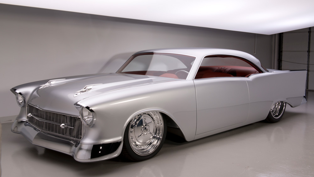 The 1957 Chevrolet Custom 'Imagine' Hardtop.