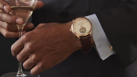Carl F. Bucherer Manero Tourbillon Double Peripheral in 18-karat rose gold