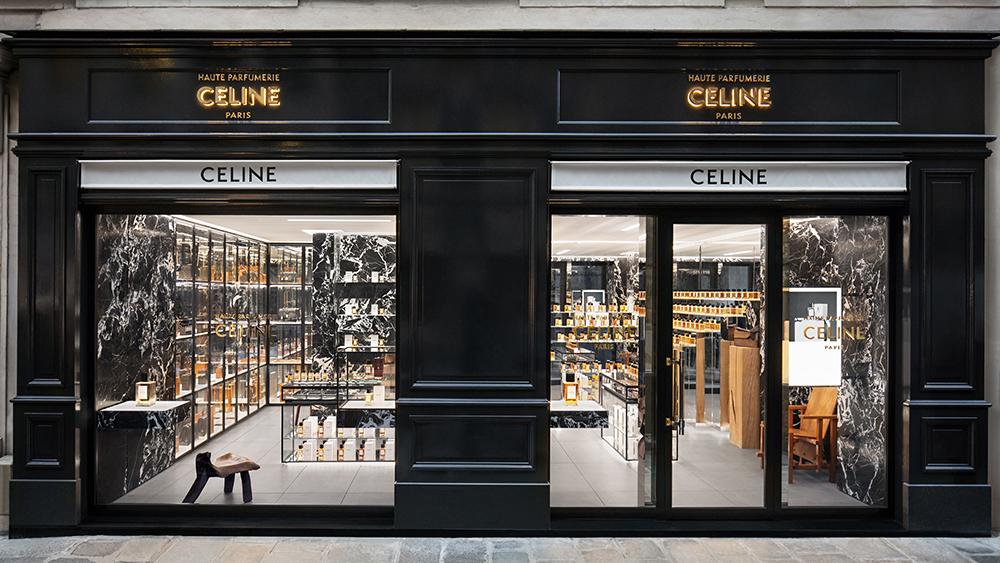 Celine Haute Parfumerie store in Paris