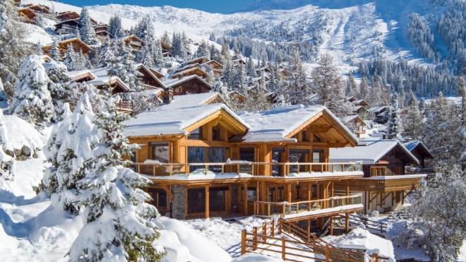 Chalet les Entrennes Bagnes Switzerland