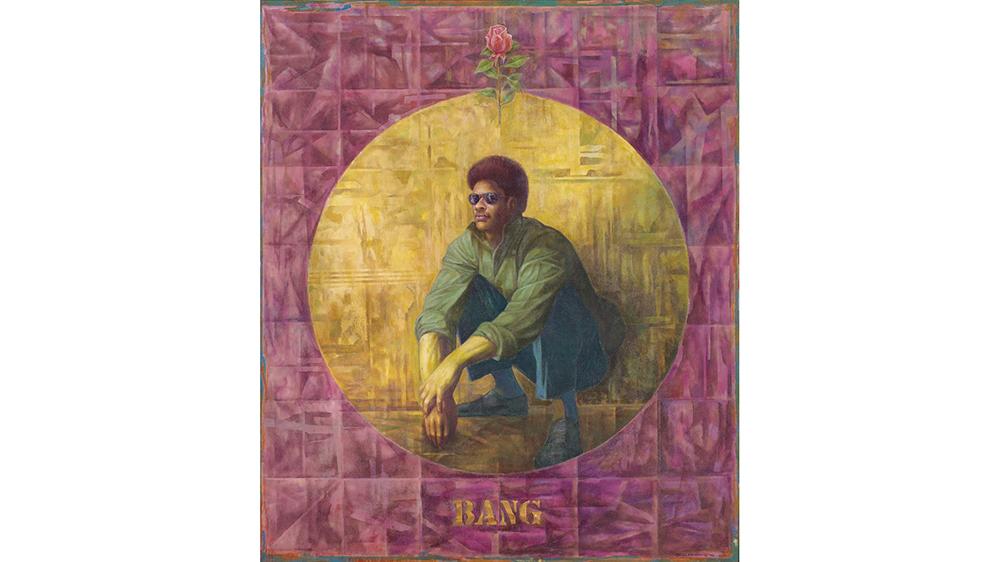 Charles White, Banner for Willie J, 1976, sold for $1.22 million.