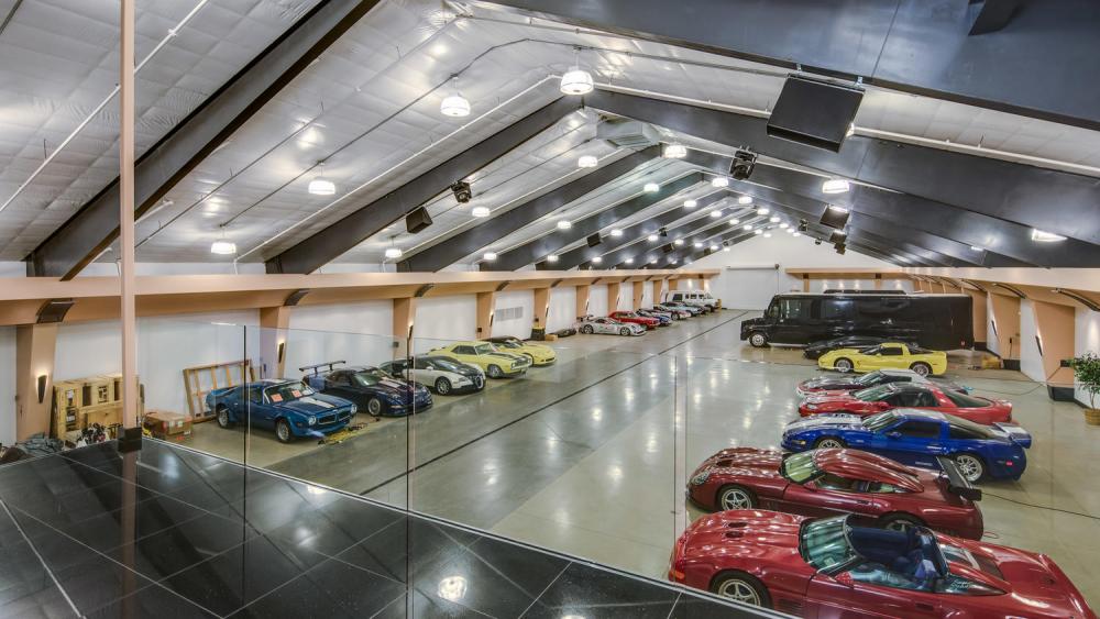 The car museum.