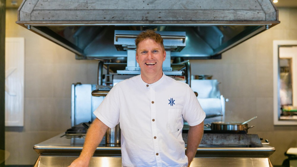 Kokomo Private Island Fiji Chef Cory Campbell