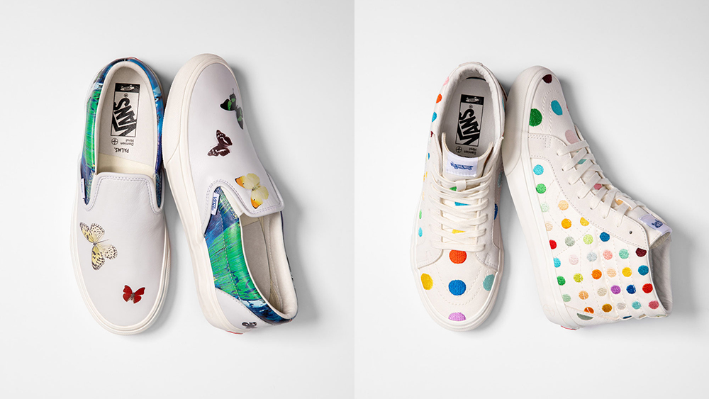 Vans collaboration with Damien Hirst and The Palms Resort and Casino
