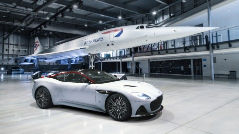 The Aston Martin DBS Superleggera Concorde Special Edition
