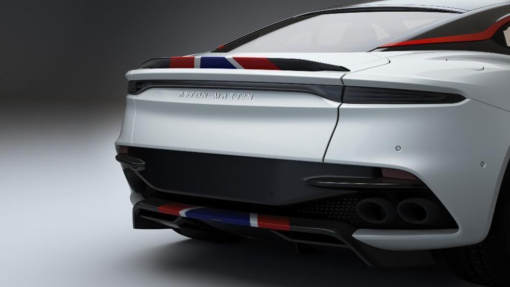 The Aston Martin DBS Superleggera Concorde Special Edition
