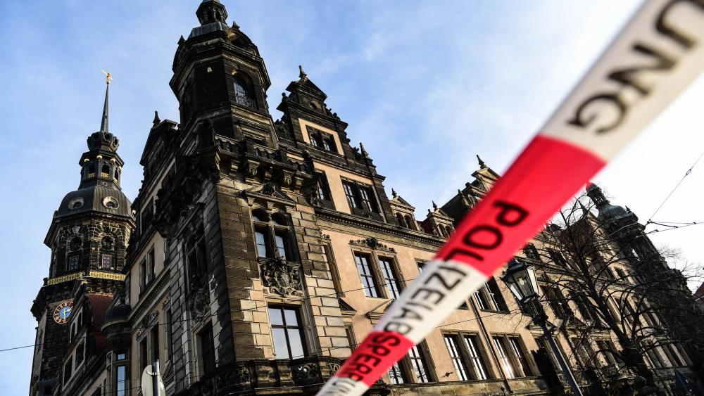 Dresden museum, jewelry, heist