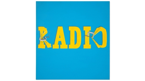 Ed Ruscha's Hurting the Word Radio #2, 1964, sold for $52.5 million.