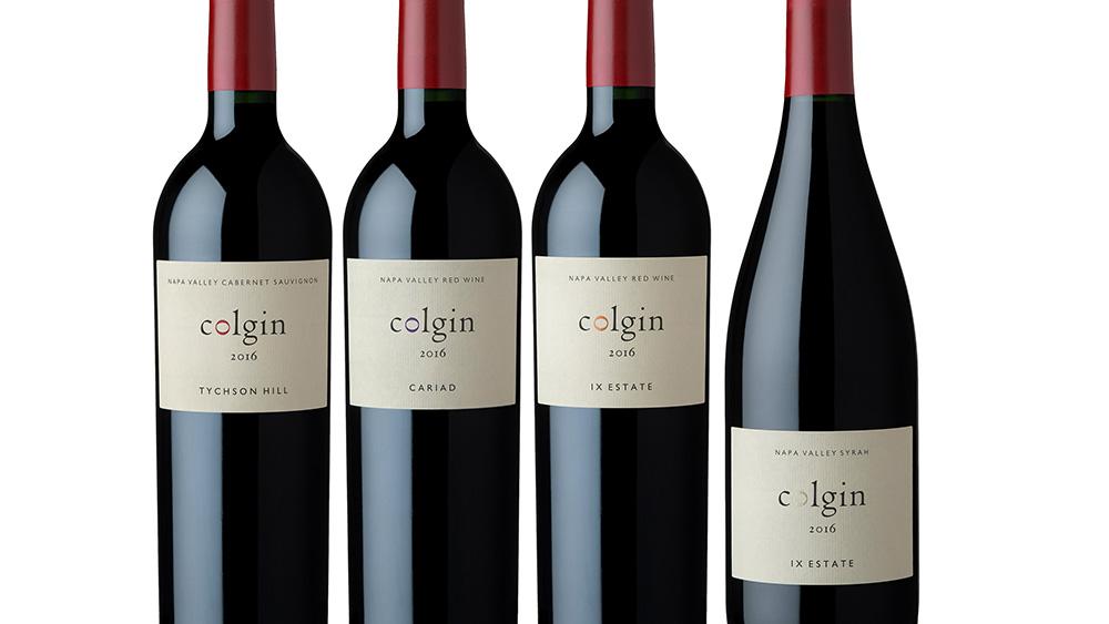 colgin cellars 2016 wine