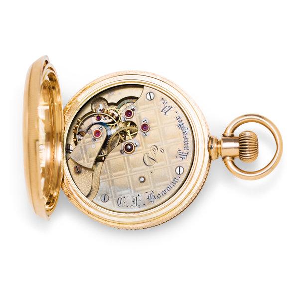 EF Bowman Pocket Watch
