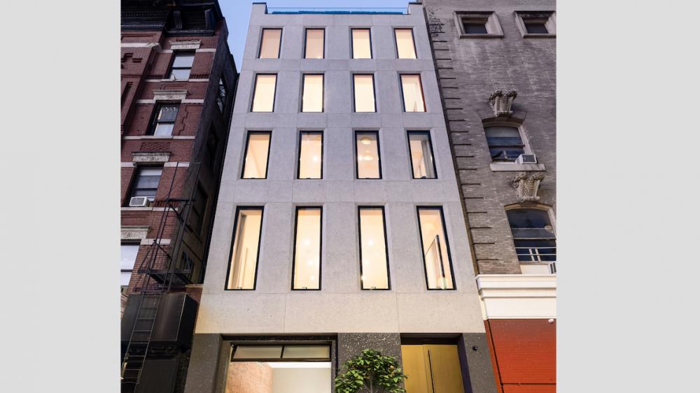 The façade.