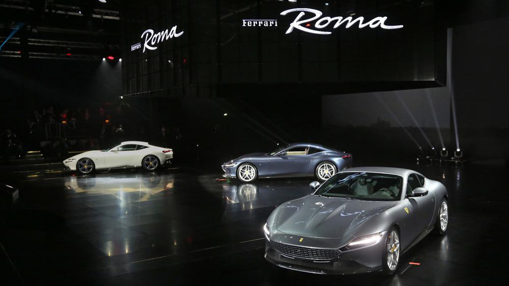 The Ferrari Roma.