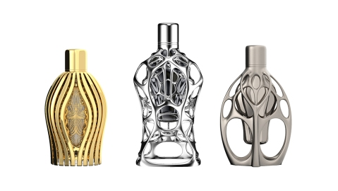 Formula 1's new line of fragrances will be housed in 3D printed bottles and may retail for as much as $10,000.