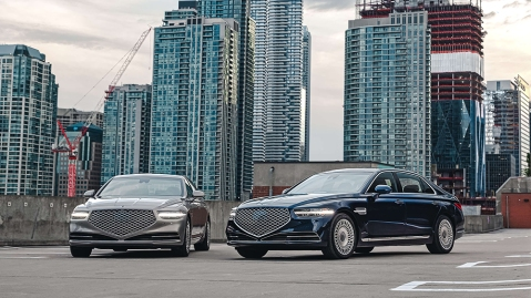 The redesigned 2020 Genesis G90