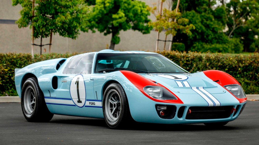 The Ford V Ferrari Ford Gt 40 Mkii Is Going Up For Auction Robb Report