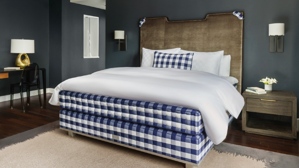 Hastens suite Lotte Palace New York