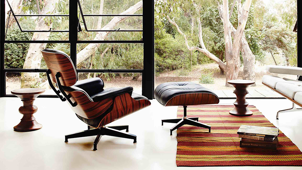 Herman Miller's iconic Eames Lounge Chair