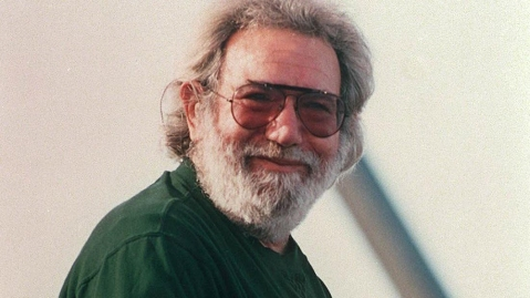 Jerry Garcia in 1990