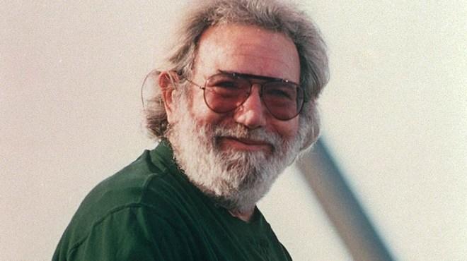 Jerry Garcia in 1990