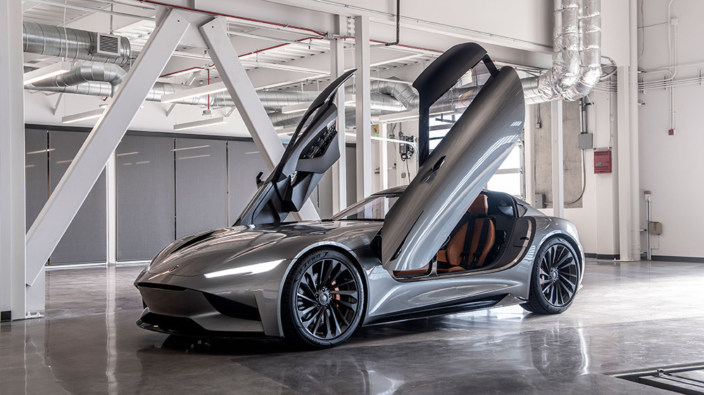 The Karma SC2 Vision Concept roadster