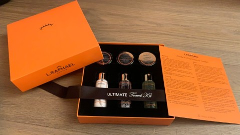 L. Raphael Skincare Jet Set Travel Kit