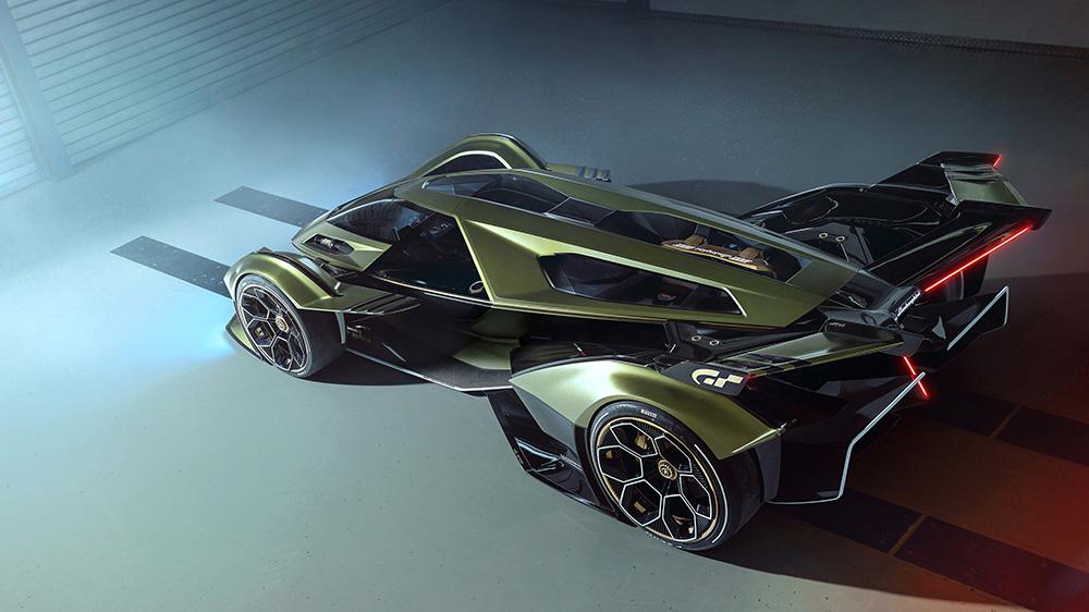 The Lamborghini Lambo V12 Vision GT