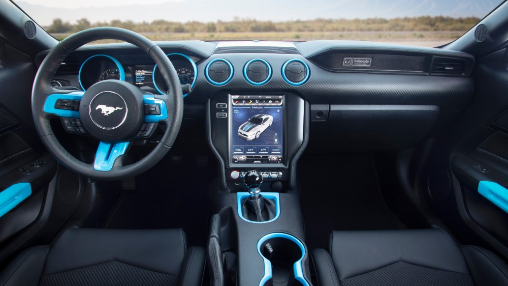 The Ford Mustang Lithium EV prototype