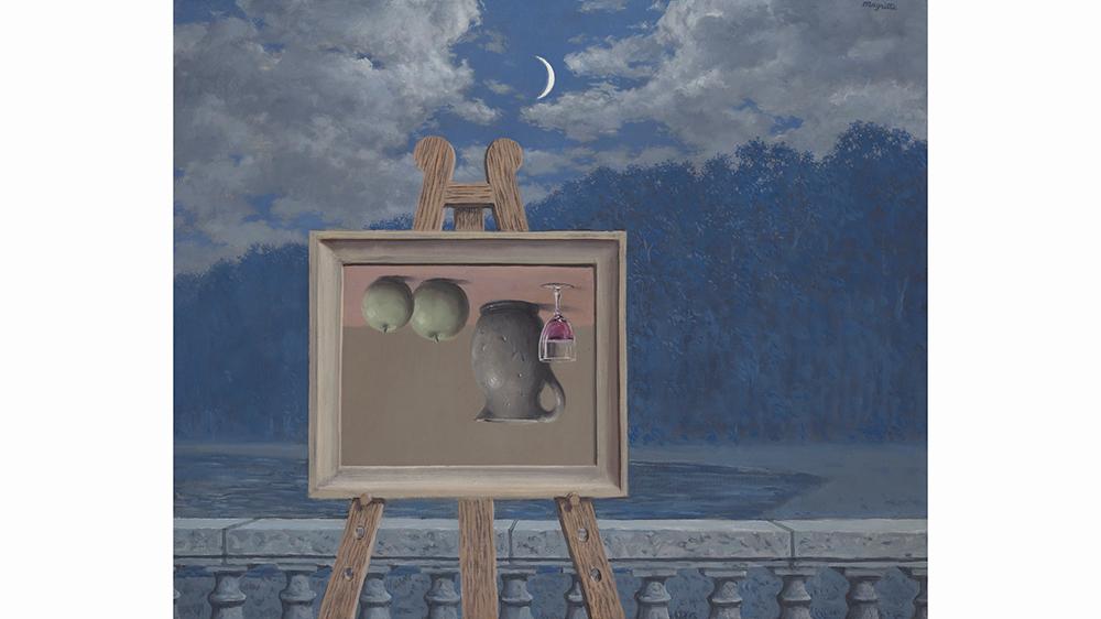 René Magritte's Le Sabbat (The Sabbath), 1959, sold for $9.92 million at Christie's New York.