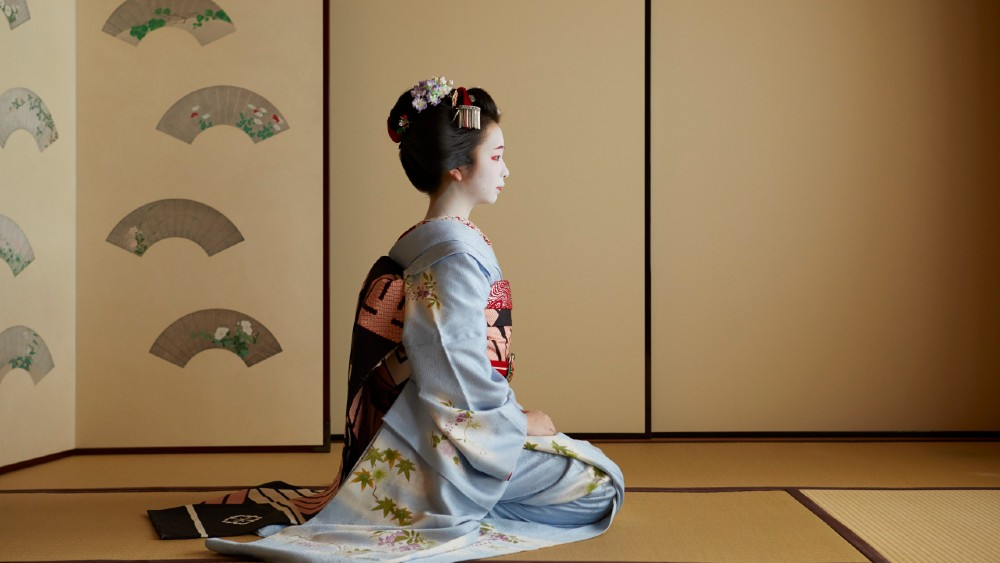 Aman Kyoto meiko experience