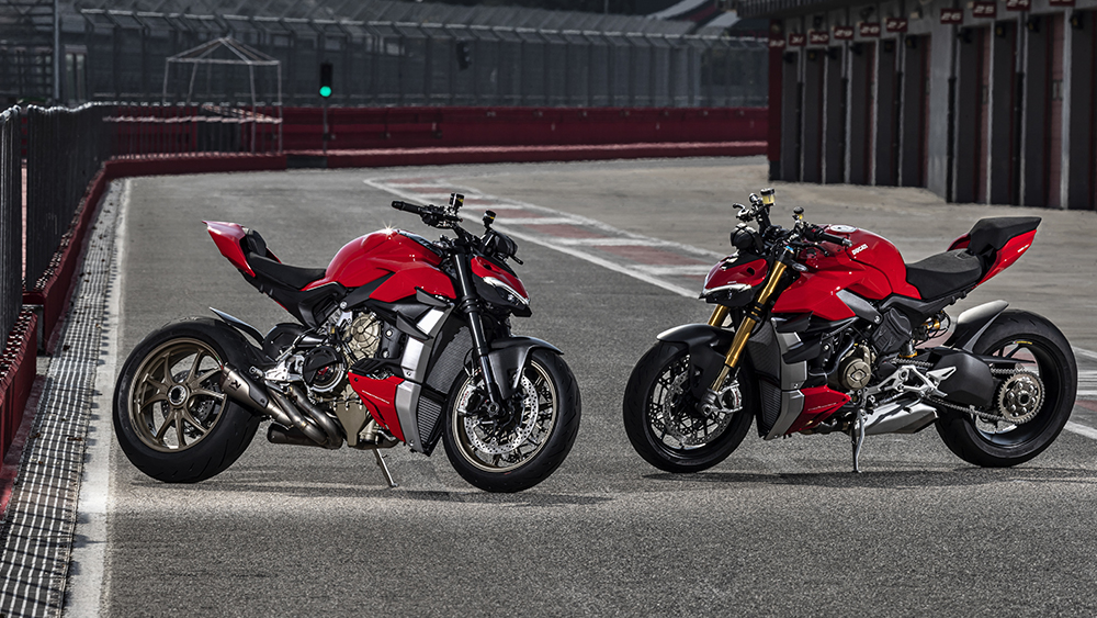 The Ducati Streetfighter V4 and V4 S