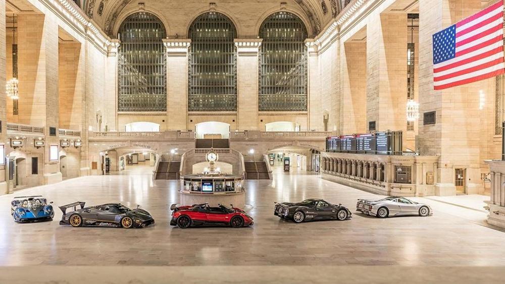 Pagani Grand Central Station