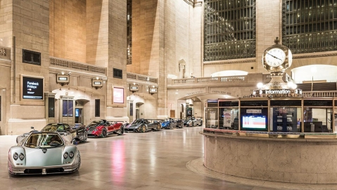 Pagani Grand Central Station
