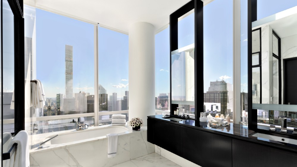 Park Hyatt New York Manhattan Sky Suite master bathroom