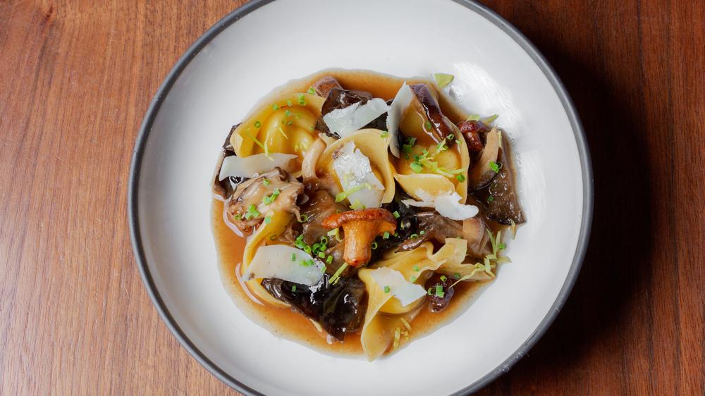 mushroom pasta portale