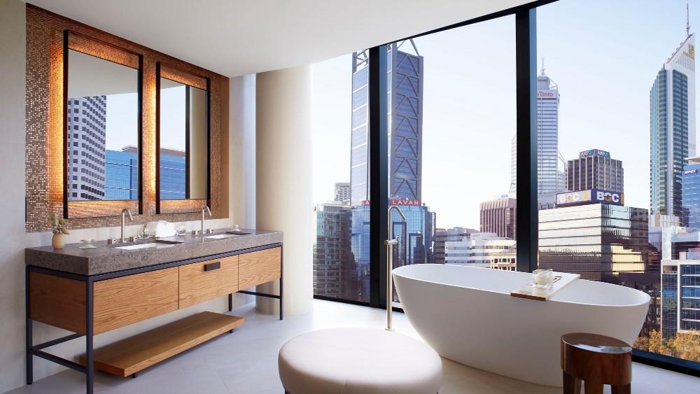 Ritz-Carlton Perth Australia bathroom
