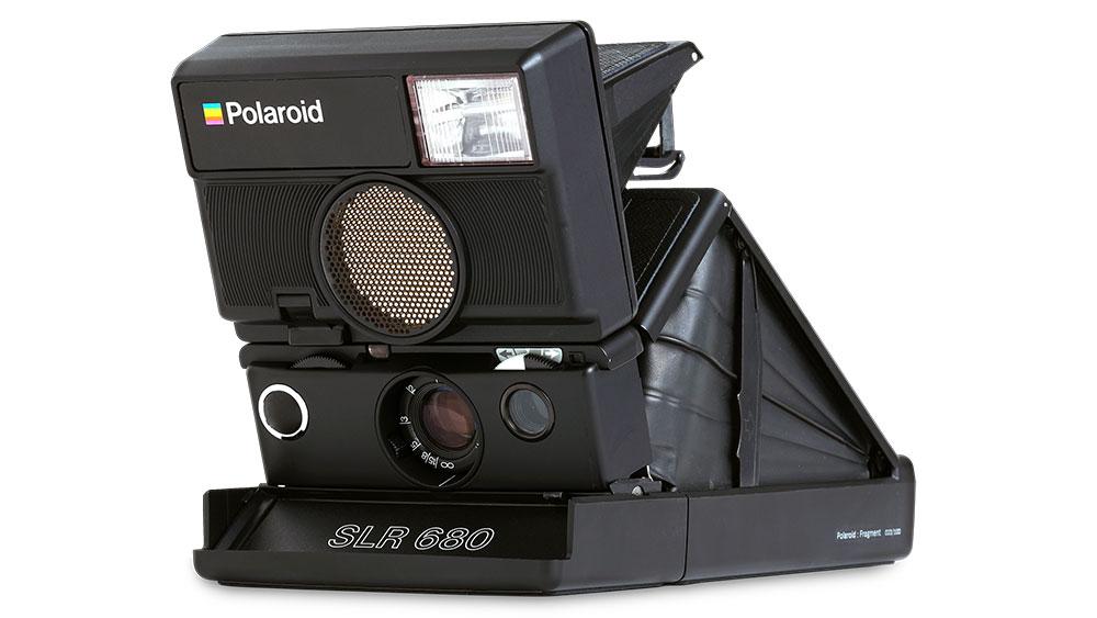 The fragment design x Polaroid Originals SLR 680 camera