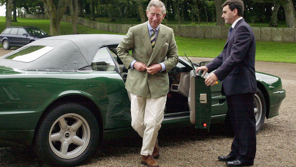 Prince Charles S Aston Martin Virage Volante Heads To Auction Robb Report