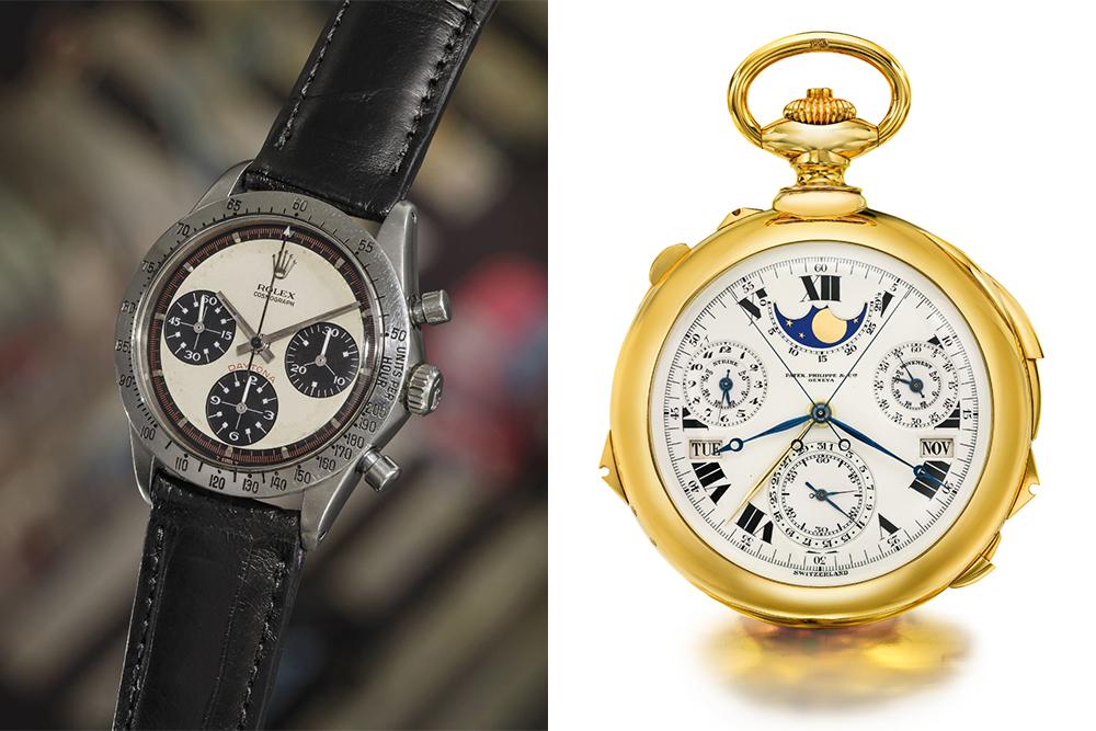 Paul Newman's Rolex Daytona and Patek Philippe's Henry Graves Supercomplication
