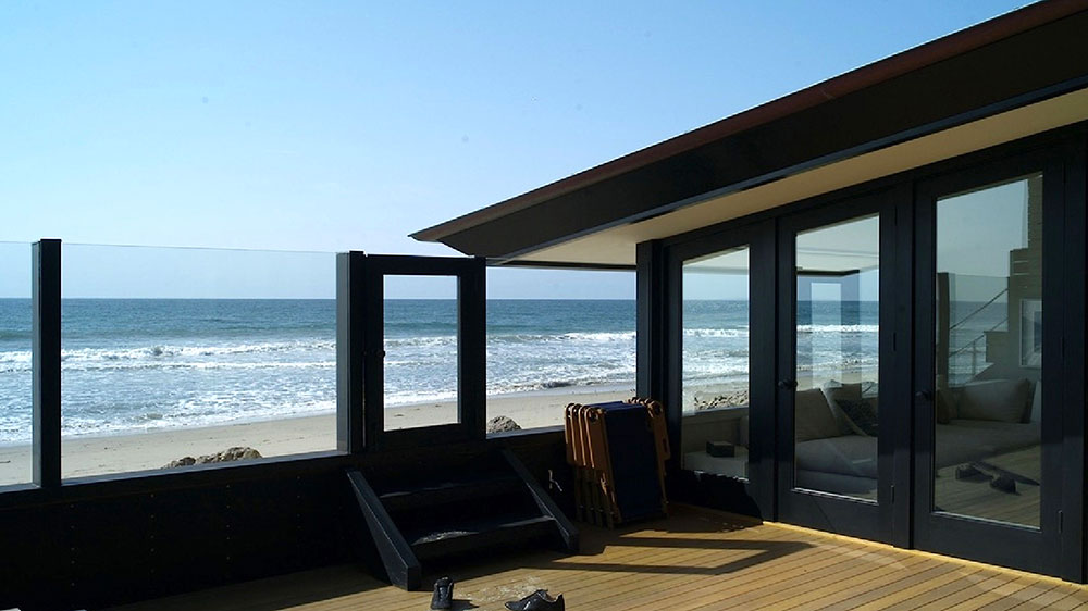 Jason Statham's Malibu Colony beach house