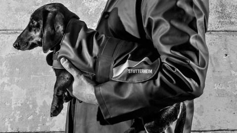 Stutterheim's new line of dog coats uses the same material as its human coats.